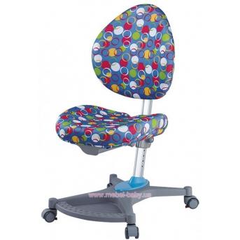 Кресло Neapol BK (арт.Y-136 BK) Mealux обивка голубая с шариками