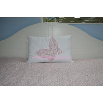Подушка 60х40 розовая