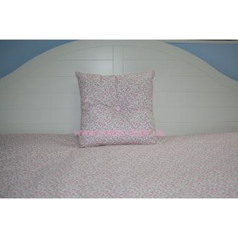 Подушка 40х40 розовая