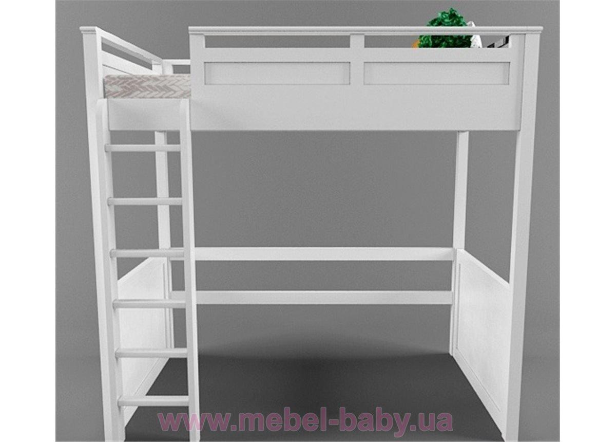 Кровать-чердак высокая Лофт Justwood