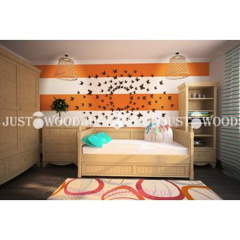 Кровать детская Бемби 80x160