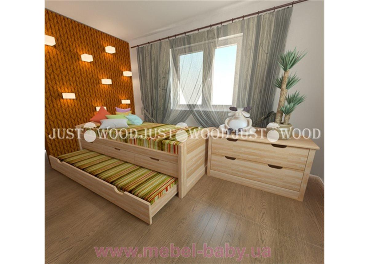 Кровать детская Капитошка 80x160