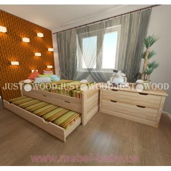Кровать детская Капитошка 90x190