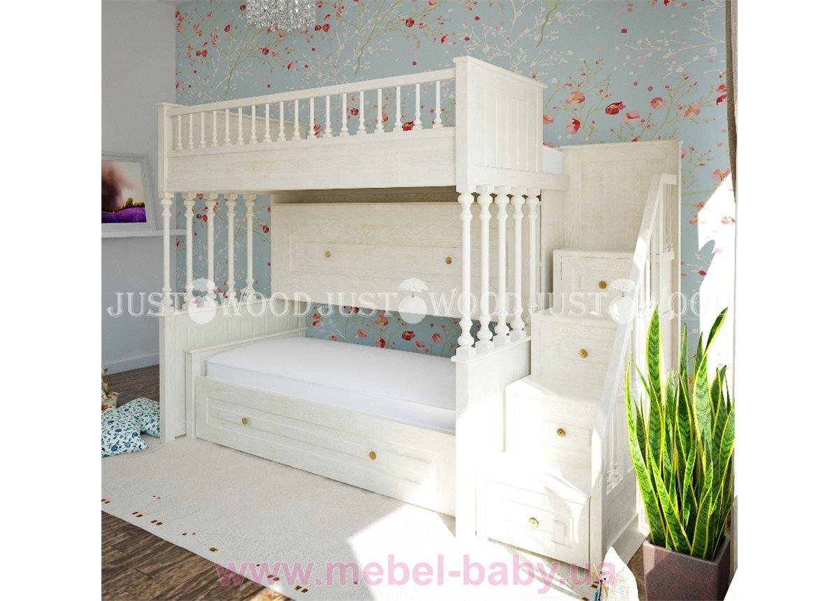 Кровать детская двухъярусная Марго