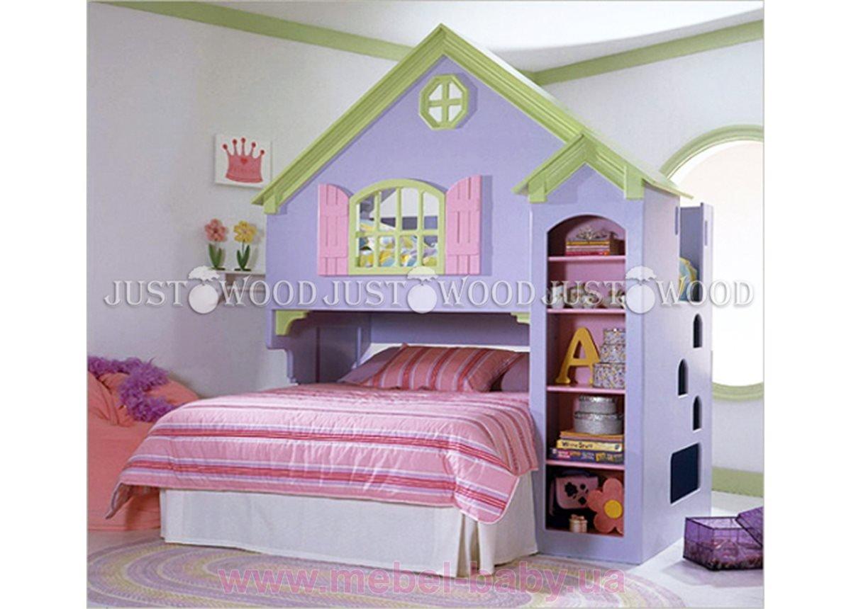 Кровать детская двухъярусная Замок