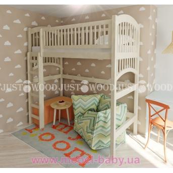 Кровать-чердак высокая Артемон Justwood