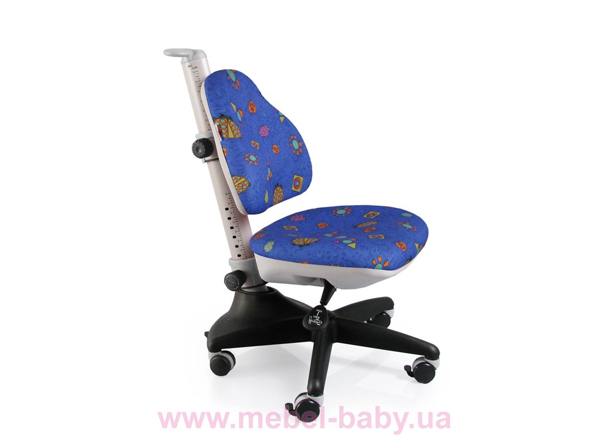 Кресло Conan BB (арт.Y-317 BB) Mealux обивка синяя с жучками
