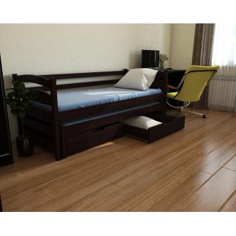 Кровать-диванчик Бонни с доп. спальным местом (масив) Луна 80x190