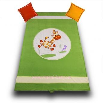 906_Покрывало и 2 подушки Happy Animals