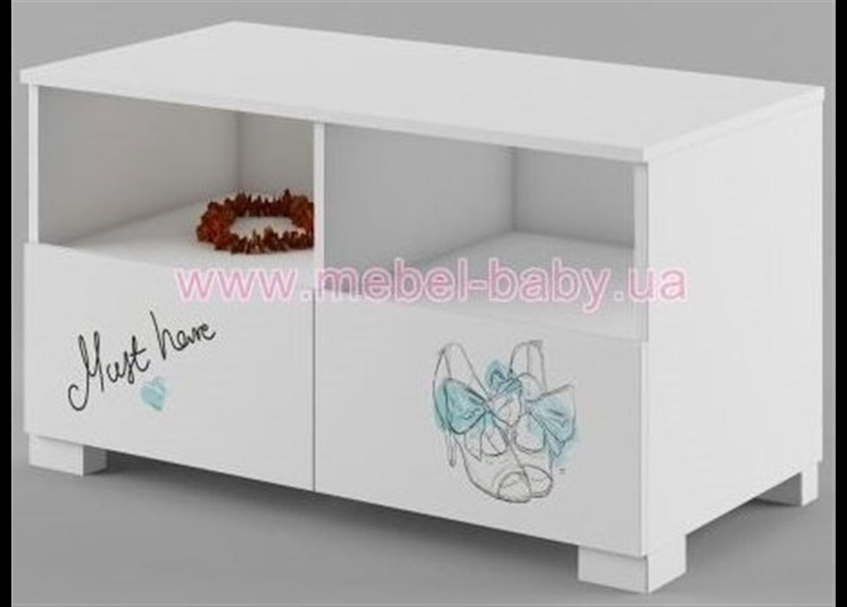 254_ТВ тумба 100 Fashion Mint