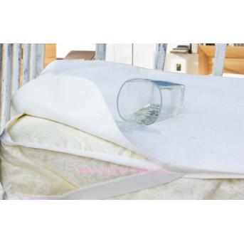 Наматрасник непромокаемый AQUA STOP 60x120 белый Idea