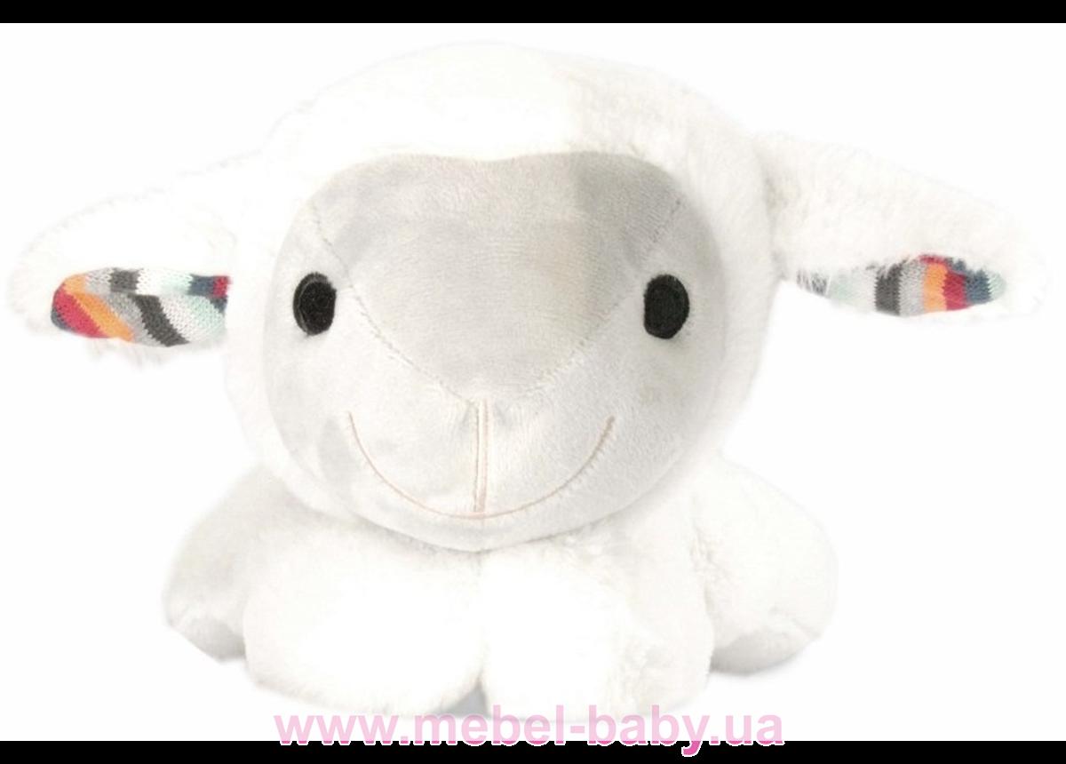 LIZ (барашек) Мягкая игрушка которая успокаивает новорожденного ребёнка, имитируя сердцебиение мамы
