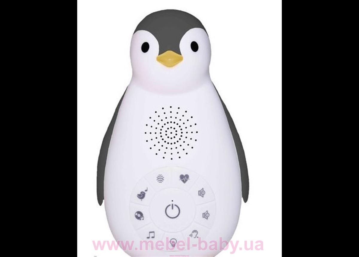 Zazu ZOE (ЗОЕ) Пингвинёнок Bluetooth (серый)