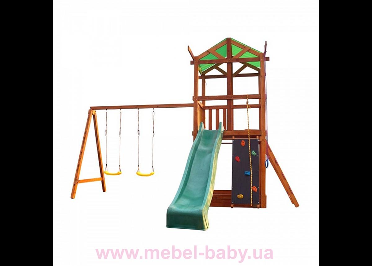 Деревянный игровой комплекс Babyland-3 Sportbaby