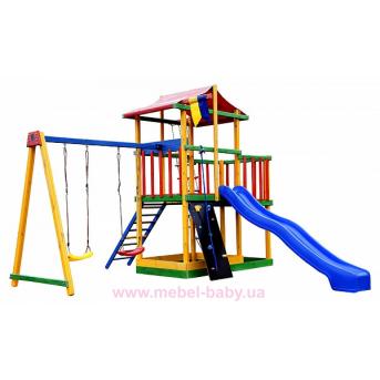 Игровой комплекс цветной Babyland-11 Sportbaby