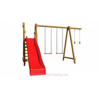 Детская площадка из дерева SportBaby-3 Sportbaby