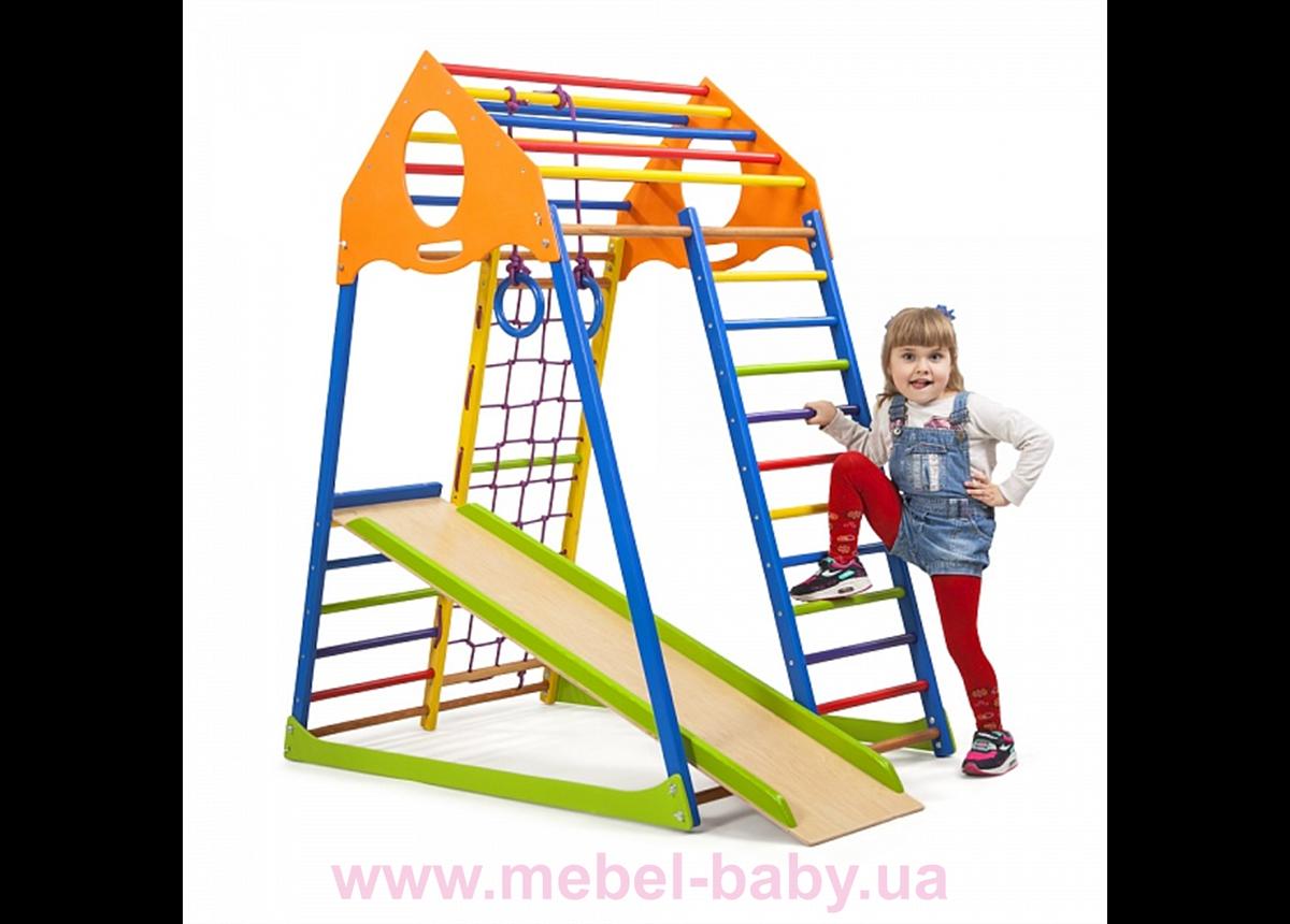 Детский спортивный комплекс KindWood Color Sportbaby