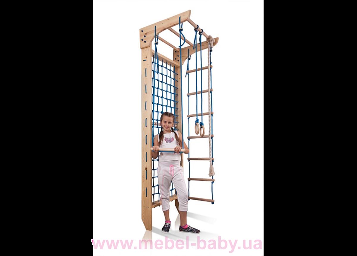 Гладиаторская сетка c турником Kinder 8 - 240 Sportbaby