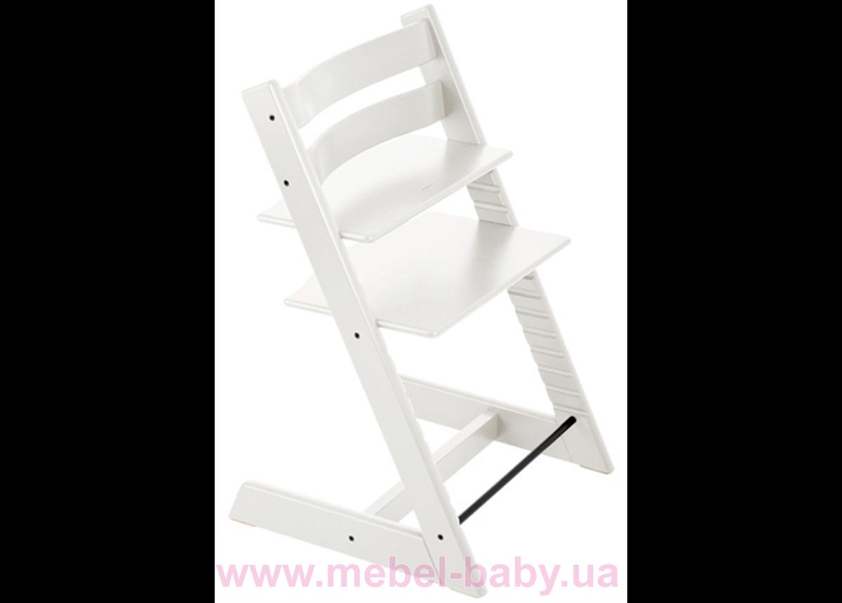 Детский растущий стульчик BABYFIX IngVart белый