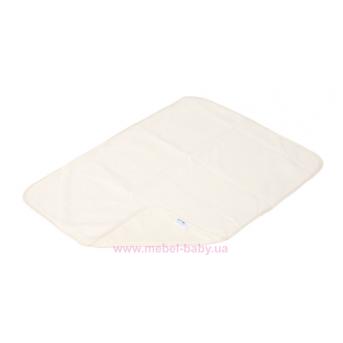 Пеленка двустороняя непромокаемая ЭКО ПУПС Jersey Classic р.65х90 см. (Молочный) ПЕЛ-6590хбтрм