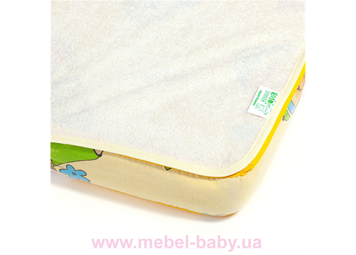 Наматрасник-пеленка 2в1 ЭКОПУПС Classic размер 60х80 см. (Молочный) КНАМ6080м