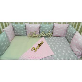 Бортики в кроватку Комплект №21 Sindbaby
