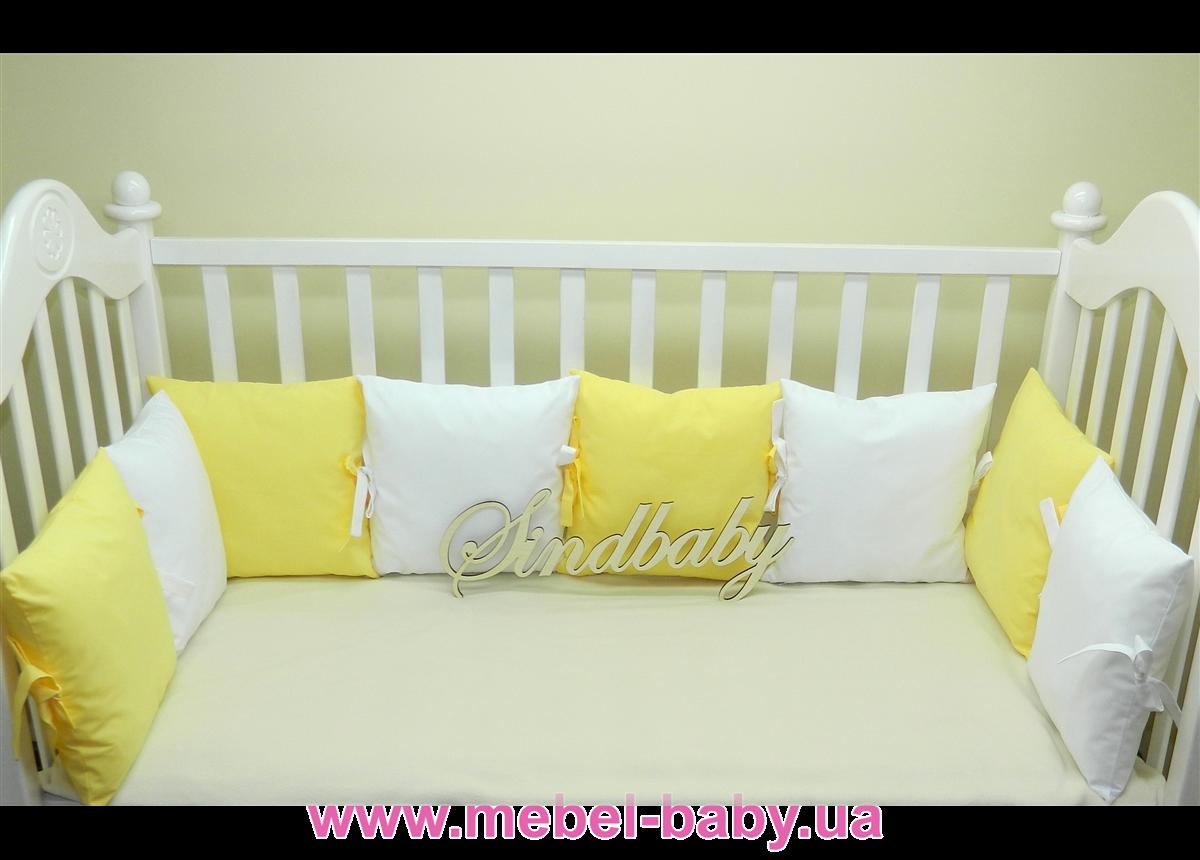 Бортики в кроватку Комплект №24 Sindbaby