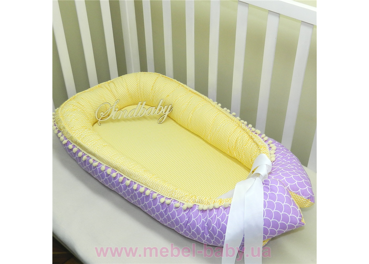 Гнездышко кокон позиционер для новорожденного BabyNest - 04 Sindbaby