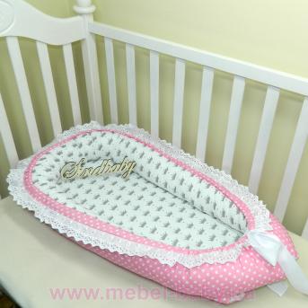 Гнездышко кокон позиционер для новорожденного BabyNest - 05 Sindbaby