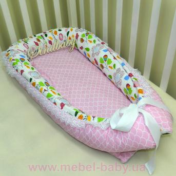 Гнездышко кокон-позиционер для новорожденного BabyNest - 06 Sindbaby