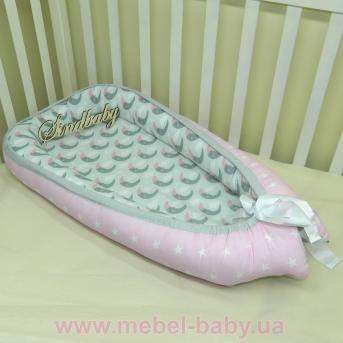 Гнездышко кокон позиционер для новорожденного BabyNest - 09 Sindbaby
