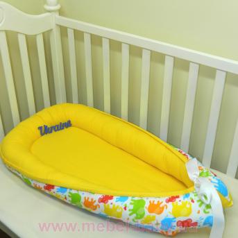 Гнездышко кокон позиционер для новорожденного BabyNest - 11 Sindbaby
