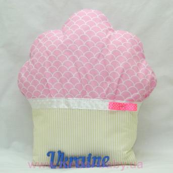 Декоративная подушка в детскую комнату «Пироженко» Sindbaby