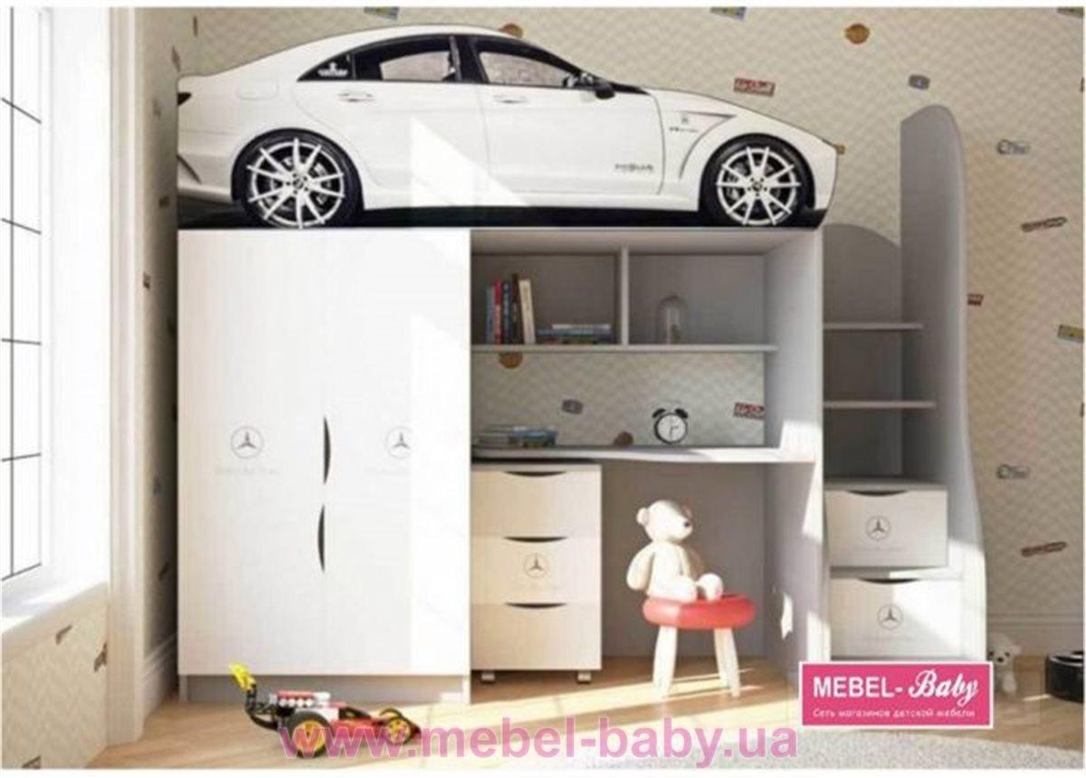 Комната-кровать серии Бренд - Мерседес