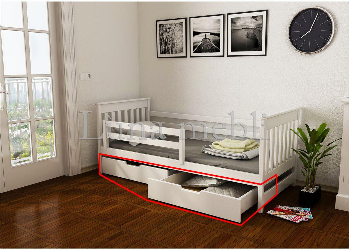 Ящики к кровати-диванчик Адель (масcив) Луна