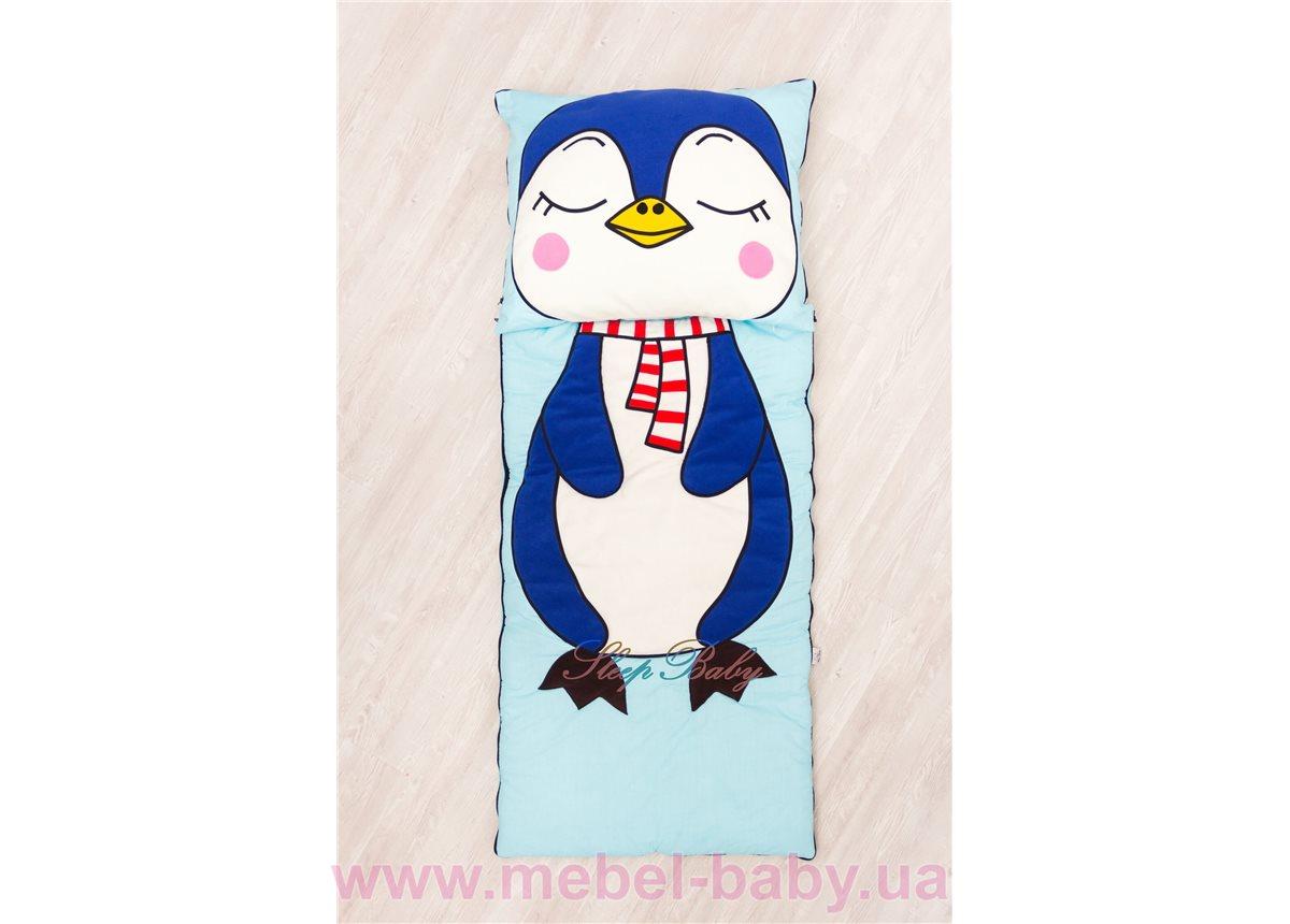 Слипик с разъемной молнией «Пингвин» 60x120 Sleep Baby