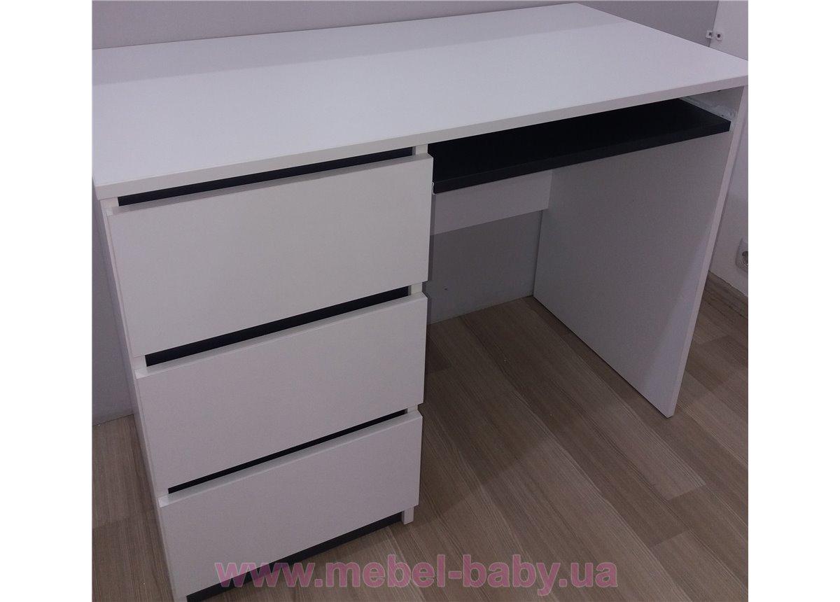 Распродажа Письменный стол CITY C5 1000 Almer Белый