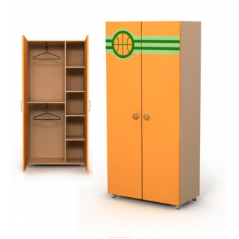 Двухдверный шкаф Bs-02-2
