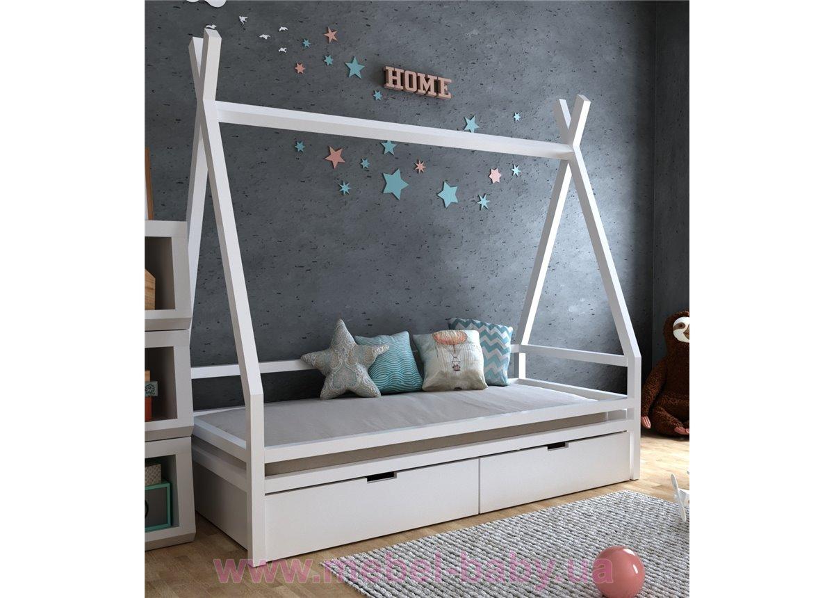 Кровать Моана с ящиками 80х190 MegaОПТ