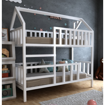 Двухъярусная кровать Молли 70х140 MegaОПТ