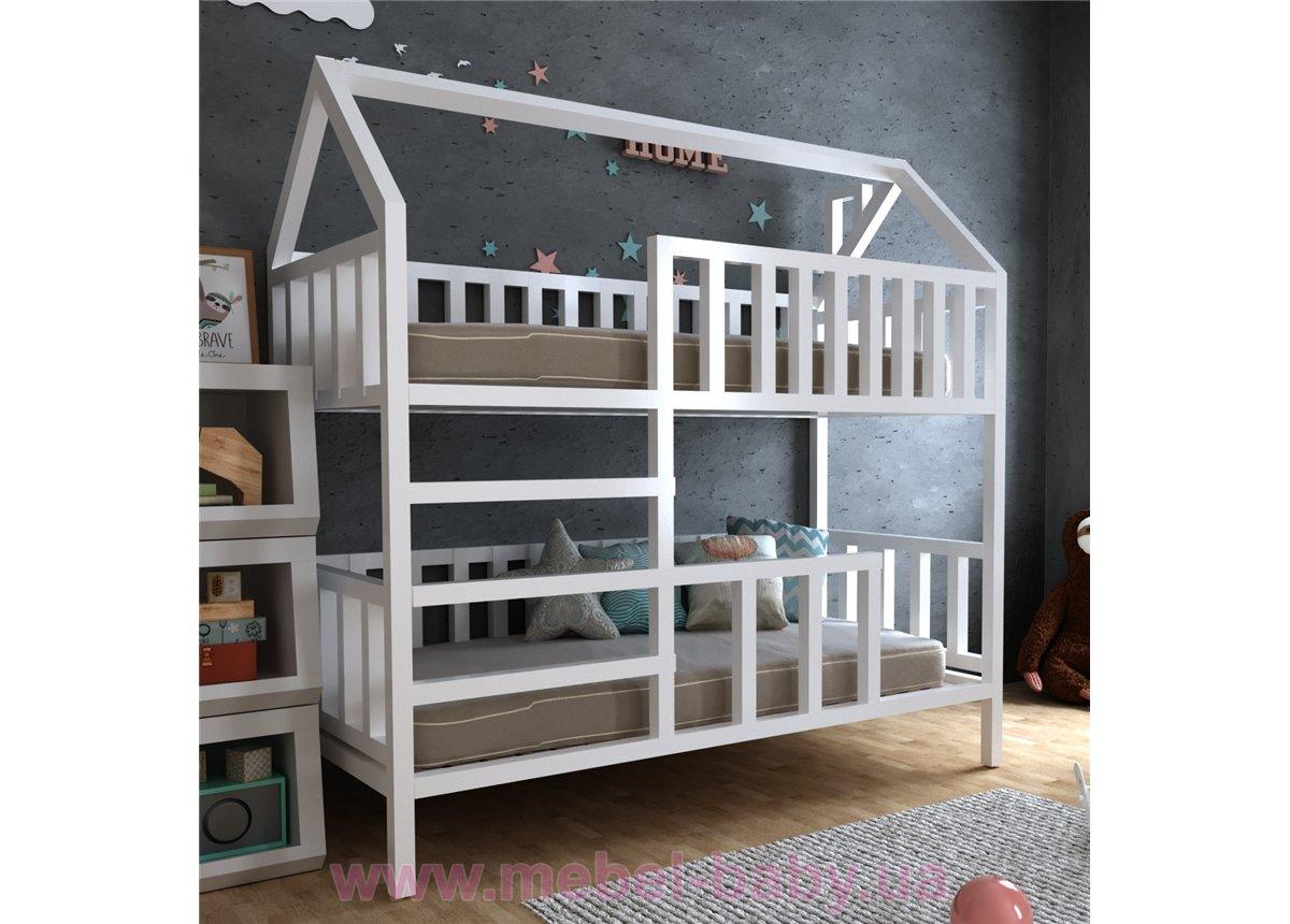 Двухъярусная кровать Молли 90х190 MegaОПТ