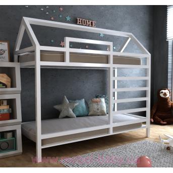 Двухъярусная кровать Джина 70х140 MegaОПТ