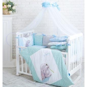 Сменный комплект постельного белья Akvarel Одуванчик Маленькая Соня голубой