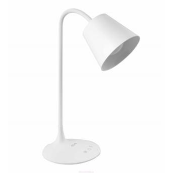 Настольная лампа NOUS S3 с аккумулятором Белый