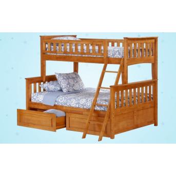 Двухъярусная кровать-трансформер Жасмин Дервета 80x190