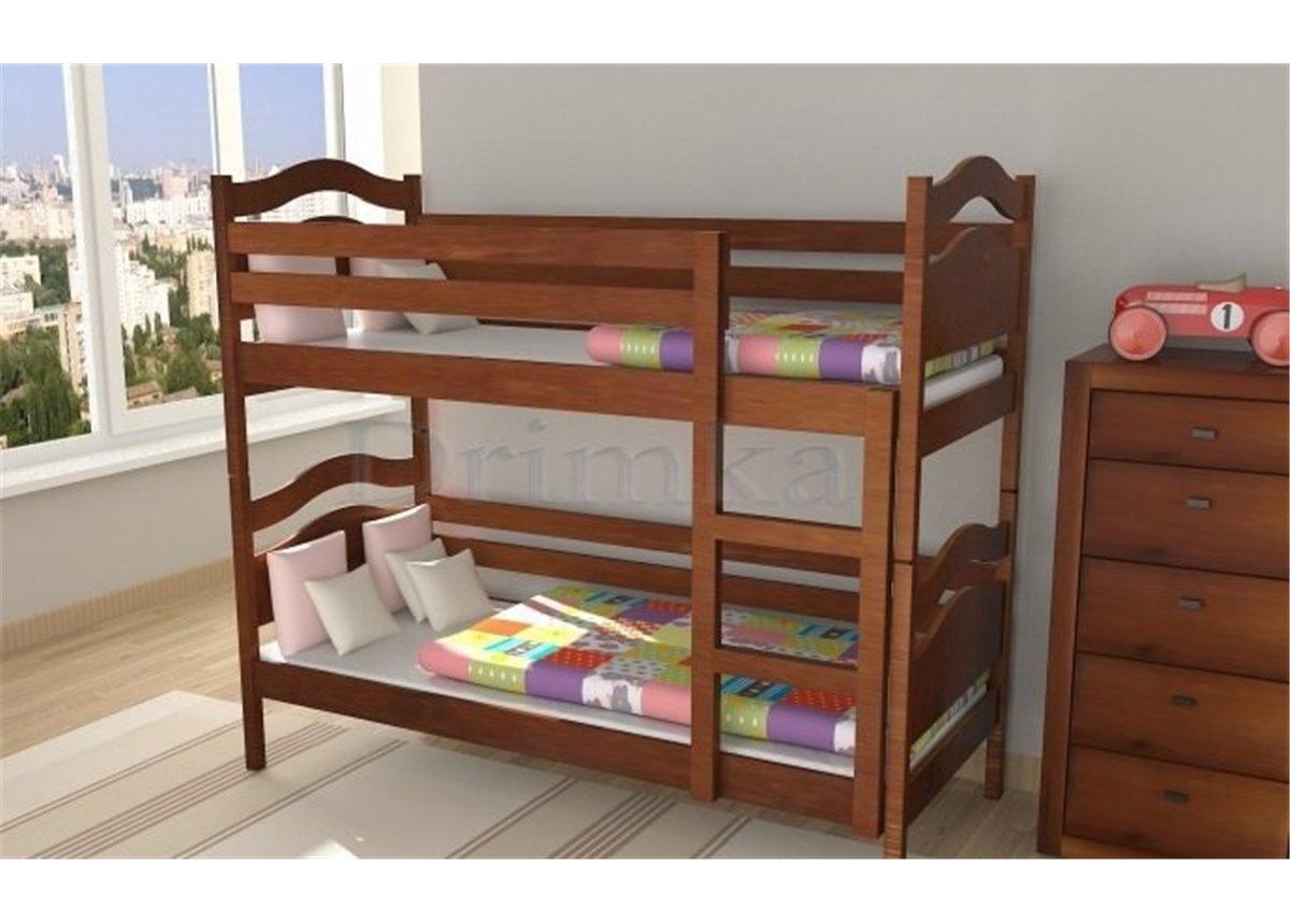 Двухъярусная кровать Винни Пух Дримка 80x190 Дерево