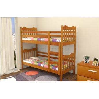 Двухъярусная кровать Маугли Дримка 80x190 Дерево