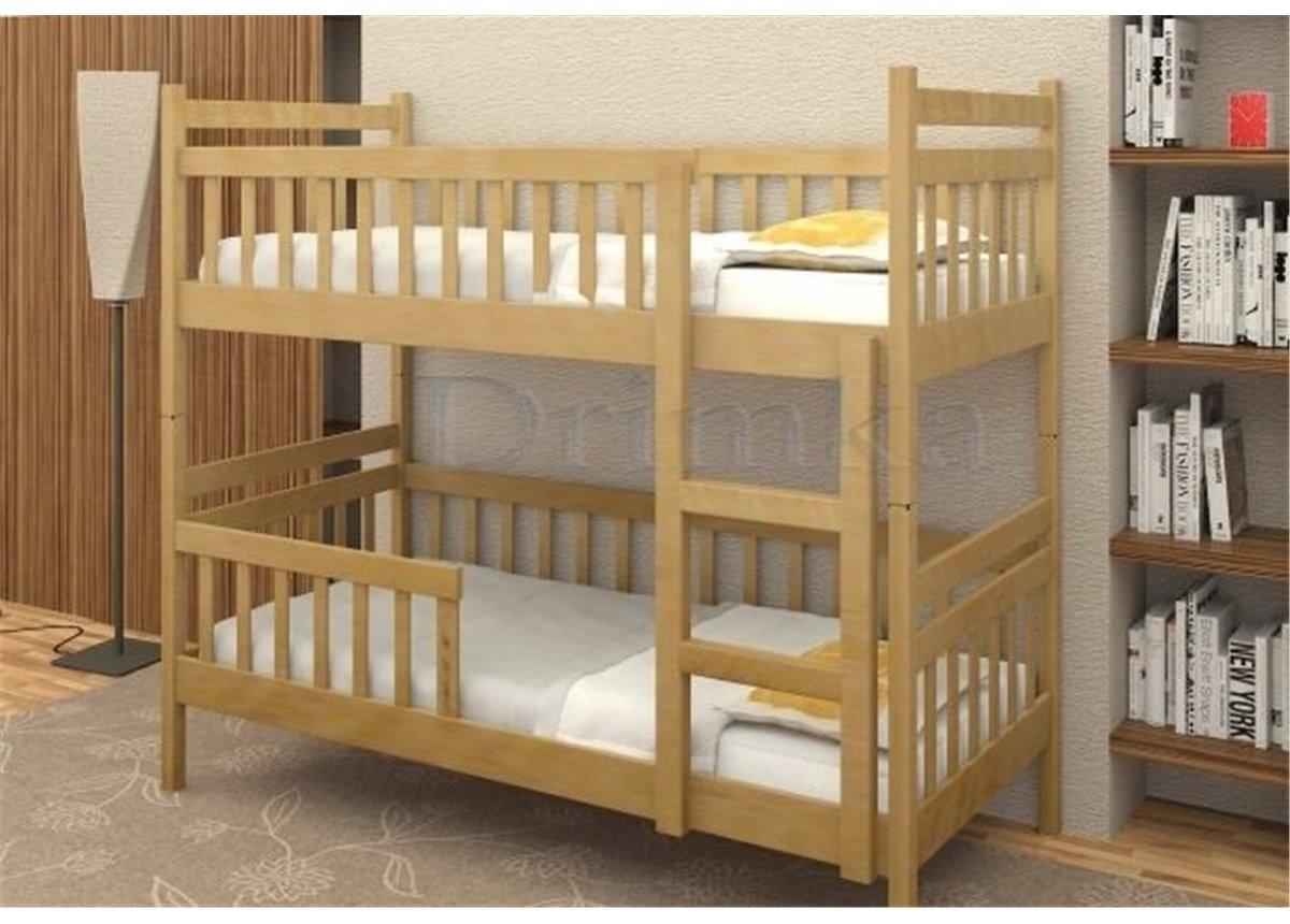 Двухъярусная кровать Том и Джерри Дримка 80x190 Бук