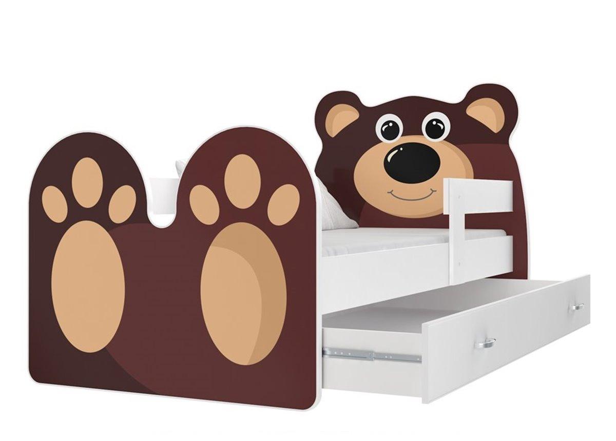 Кровать МИШКА с ящиком Fmebel KA