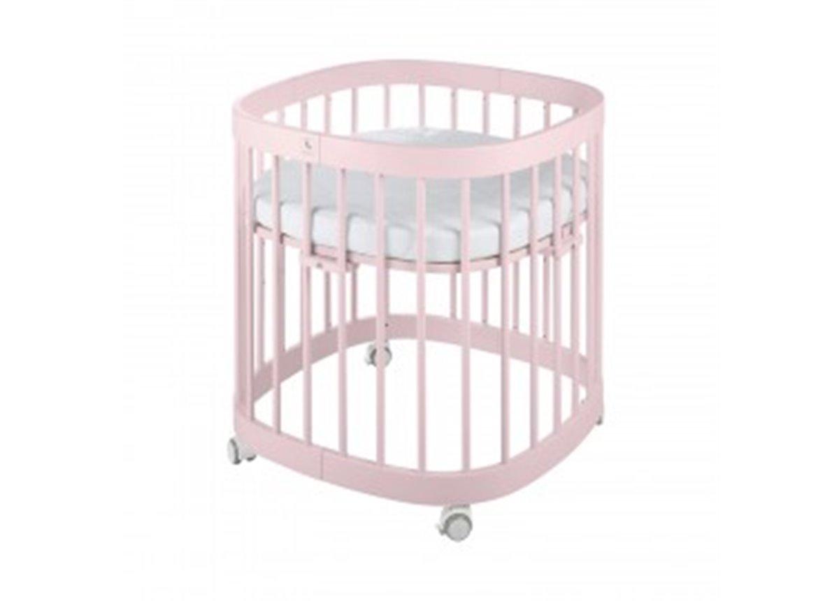 Кроватка многофункциональная 7 в 1 Tweeto 70x122 розовый